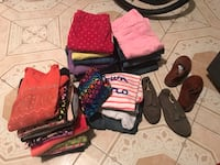 Gently used girls clothes  210 mi