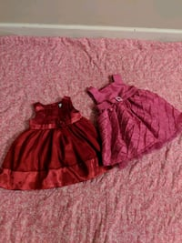 Girl 6-12m dresses (6-12m on tags) Surrey, V3W 5S2