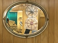 Oval Hanging Wall Mirror Wellsville, 17365