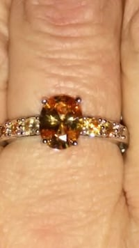 Sterling silver and citrine ring Las Vegas, 89121