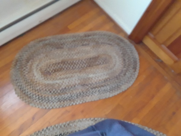 Used Beautiful Vintage Braided Rugs For Sale In New Egypt Letgo