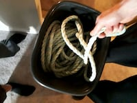 heavy duty rope. 200 ft   5/8 thich saftey rope.  Edmonton, T6J 4J2