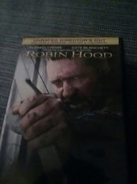 Russell crow in Robin hood..dvd