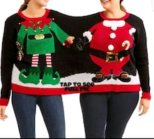 Ugly Christmas Sweater 2 person