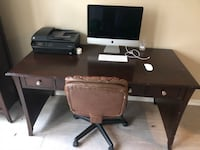 Computer Desk and Shelves Only 1201 mi