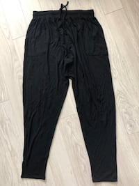 Forever 21 black goucho drawstring pants. Size L $5