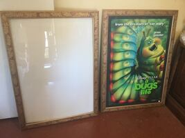 2 Matching Frames with glass.