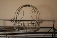 Wrought Iron Decorative Basket Ashburn