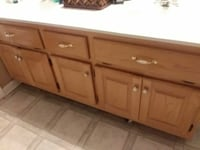 brown wooden kitchen cabinet Spring Hill, 37174
