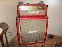Red Marshall Special Edition HDFX Half Stack VIENNA