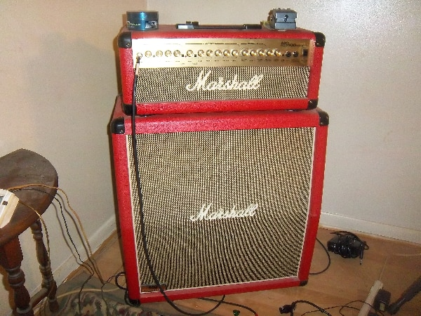 Red Marshall Special Edition HDFX Half Stack