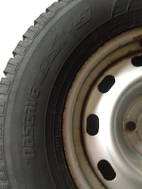 Toyo truck winter tires and rims and lug nuts East Gwillimbury, L3X 0A8