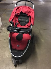 Fantastic stroller Britax B-agile in red Friendship Heights, 20815