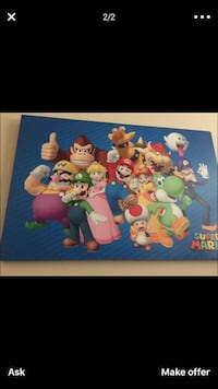 Huge Mario bros characters canvas  Las Vegas, 89156