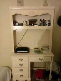 white wooden desk with hutch Winchester, 22601