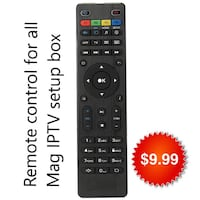 Replacement IPTV Remote Control For Mag  [TL_HIDDEN] 0 261 270 Mississauga
