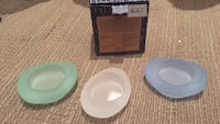 Partylite - sea glass tealight trio Brampton, L6W 1C1