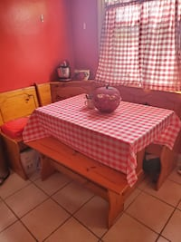 It is good condition besides the stain on the table which can be cover