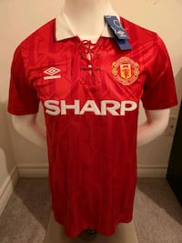 Manchester United Retro Jerseys ! Very Rare  Mississauga, L5B 4P5