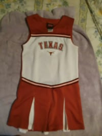 UT CHEERLEADER UNIFORM  Trinity, 75862