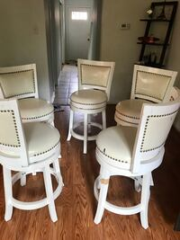Bar stools in cream color Annandale, 22003