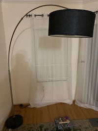 White and black floor lamp Los Angeles