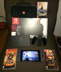 NEW WITH BOX  Nintendo switch bundle  mom said i can sell