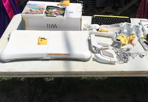 Wii for sale and games