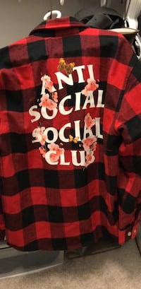 BRAND NEW Anti Social Social Club Shirt Washington, 20015