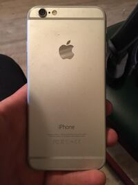 gold iPhone 6 with black case