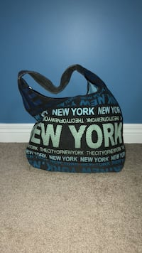 Blue New York  printed tote bag New Tecumseth, L9R