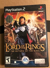 Lord of the Rings- Playstation Ashland, 01721