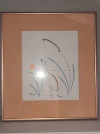 """PRICED TO SELL! framed picture 14 3/4"""" high X 13 1/4"""" wide Edmonton, T6L 6P5"""