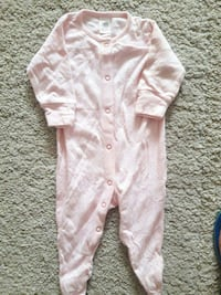 babyens rosa sovsuit Gothenburg, 424 34
