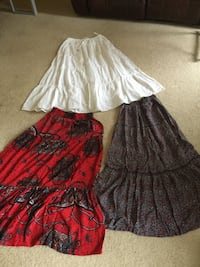 Skirts all 3 for $10 once used only  Burnaby, V5H