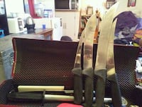 Assorted knives for butchering meat St. Albert, T8N 2T3