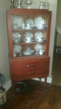 brown wooden cabinet with shelf Fort Smith, 72901