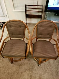 vintage rolling chairs  Woodstock