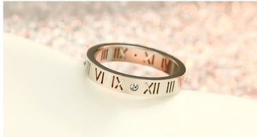 *PERFECT BUY* Roman Numeral Ring