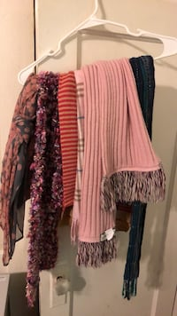 Assorted scarfs. $10.00 for all of them 300 mi