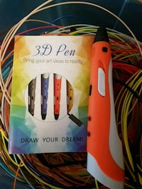 3D Art Pen with Refills (50+colours) Mississauga, L5C 3Y7