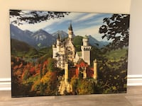 Bavarian castle painting
