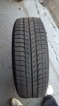 Set of 4 winter tires used only 1 winter Mississauga, L4T 2E7