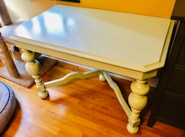 Desk or Dining Table For Sale