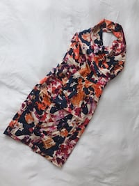 MARCIANO halter dress Size 2 worn once  Vancouver, V6Z 1Y6