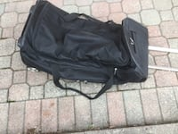 TravelBag -Black with Handle and Wheels Mississauga