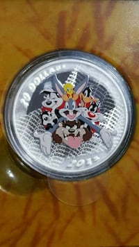 Looney Tunes pure silver limited edition coin  Toronto, M3C 4C5