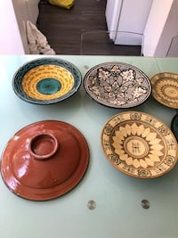Moroccan handcrafted plates  $12 each Los Angeles, 90035