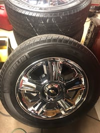 4 Chevy stocks w/tires $1000 OBO Houma, 70363