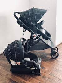 baby's black and gray stroller Leesburg, 20176